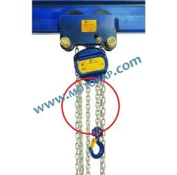 Верига за комбинирана верижна лебедка с гредова количка, 2,0 тона