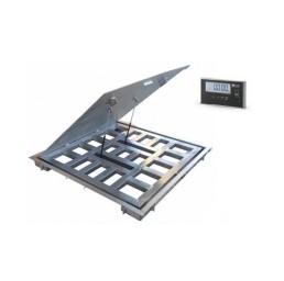 Платформена везна за вграждане с отваряне PVV-O, 0,6 т., 1250х1250 мм