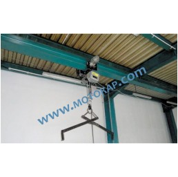 Електрическа гредова количка/релсов плъзгач 5,0 т. 125-200 мм 380 V 50 Hz 1 скорост