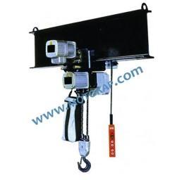 Електрически верижен подемник с ел. хоризонтално задвижване CTD 003, 7,5 т.