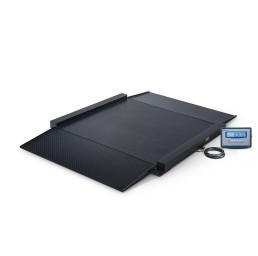 Нископрофилна платформена везна българска 600 кг, 750х750 мм