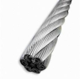 Стоманено поцинковано въже Херкулес 18х7, DIN 3069, 12 мм