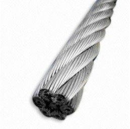 Стоманено поцинковано въже Херкулес 18х7, DIN 3069, 13 мм