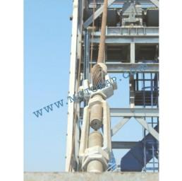 Обтегач вилка-вилка M30х255 мм, 6,37 тона, тестван, DIN 1480