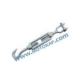 Обтегач кука-вилка M16х170 мм, 1,8 тона, тестван, DIN 1480