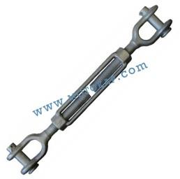 """Обтегач вилка-вилка 1‐3/4x24"""" (44,5/610 мм), 12,7 тона, тестван, DIN 1045"""