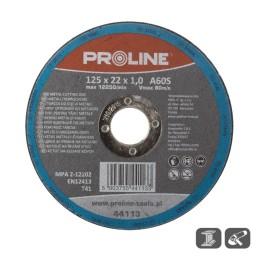 Диск за рязане 115X1.0X22, A60S Metal