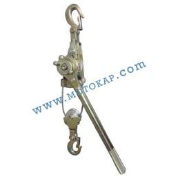 Ръчна въжена лебедка 1500 кг с тресчотка (с въже), тип HS