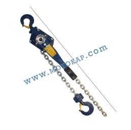 Верижна лебедка 1500 кг с тресчотка (с 3 м верига), тип A