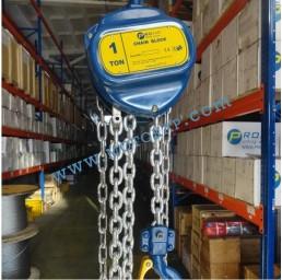 Ръчна верижна лебедка 1000 кг (с 3м верига), тип C