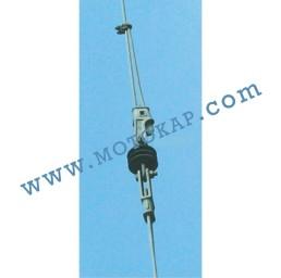 Накрайник (клин) за стоманено въже 27-29 мм, тип OWS