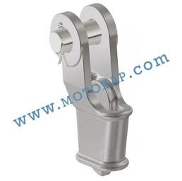 Накрайник (клин) за стоманено въже 37-40 мм, тип OWS