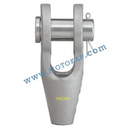 Накрайник (вилка) за стоманено въже 20-22 мм, тип OSS