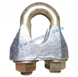 Скоба за въже 12.0 мм електропоцинкована, DIN 1142, тип 1142