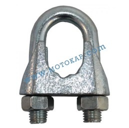 Скоба за въже 26,0 мм електропоцинкована, DIN 741