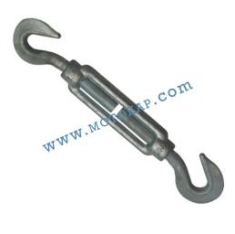 Обтегач кука-кука M10х125 мм, 0,66 тона, тестван, DIN 1480