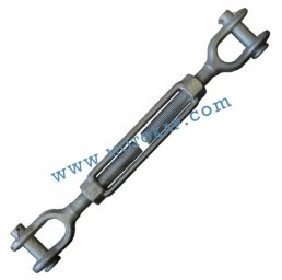 """Обтегач вилка-вилка 1/4х4"""" (6.35х102 мм), 0,23 тона, тестван, DIN 1045"""