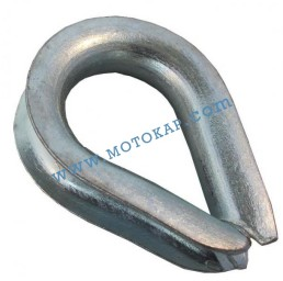 Кауш (гаша) DIN 6899B за въже 10,0 мм, тип RO