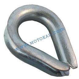 Кауш (гаша) DIN 6899B за въже 14,0 мм, тип RO