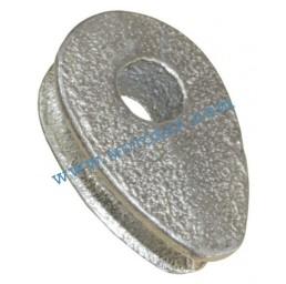 Кауш плътен DIN 3091 за въже 22,0 мм, тип ROD