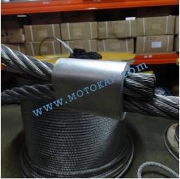 Алуминиева втулка цилиндрична за въже 2,5 мм, тип MAL ПО ЗАПИТВАНЕ