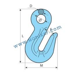 Реглаж за верига с ухо клас 10, 10,0 тона, тип GR100-KS, SF-4:1 ПО ЗАПИТВАНЕ