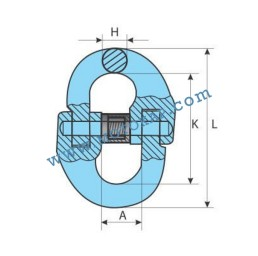 Кентерни звена клас 10, 2,5 тона, тип GR100-KL, SF-4:1