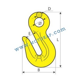 Реглаж (скъсяваща кука) за верига 31,5 тона с ухо, клас 8, KS, SF-4:1
