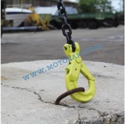 Кука за верига самозаключваща 5,3 тона, клас 8, KAL, SF-4:1