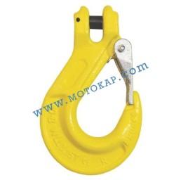 Кука за верига ø18-20 мм с палец 12,5 тона, клас 8, KSL, SF-4:1