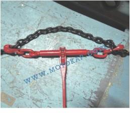 Верижен обтегач с тресчотка, тип INT, 6300/12600 daN, за верига 10 мм