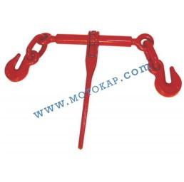 Верижен обтегач с тресчотка, тип К, 2,45 т, 6300/12600 daN, за верига 8/10 мм