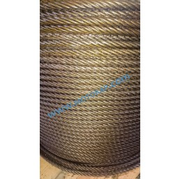 Стоманено въже 6х36 (6х37) +OC 16 мм