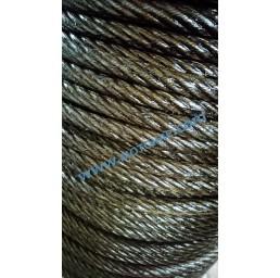 Стоманено въже 6х7+ОС 2,0 мм