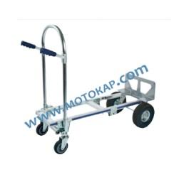 Ръчна количка 200/300 кг алуминиева, разгъваема
