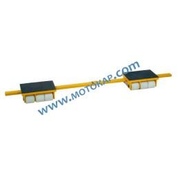 Ролки за тежки товари тип Y, 12 тона (6+6)