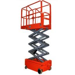 Платформа/вишка ножична електрическа мобилна 300 кг / 3 метра