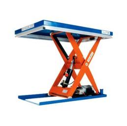 Електрическа ножична платформа статична, 2500 кг/1350 мм, за релсов път