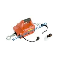 Електрическа въжена лебедка 250 кг, 8 метра, дистанционно, 220V 50Hz, тип BL-S