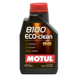 Motul 8100 ECO-Clean 5W30 - 1 литър