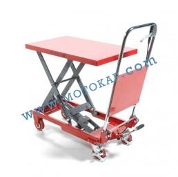Хидравлична ножична платформена количка T0005, 150 кг/950 мм, 930 х 450 мм