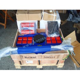 Ролки за тежки товари тип XY, 24,0 тона (12+6+6) 3 части