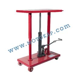 Хидравлична ножична платформена количка, 455 кг/1220 мм, 915 х 460 мм
