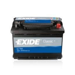 EXIDE Classic 70Ah / 12V/ 640A