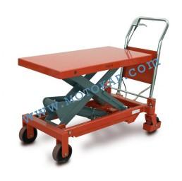 Хидравлична ножична платформена количка T0009, 750 кг/990 мм, 1250 х 510 мм