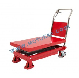 Хидравлична ножична платформена количка T0007, 350 кг/1300 мм, 1050 х 500 мм