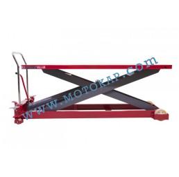 Хидравлична ножична платформена количка T0010, 1000 кг/1360 мм, 2035 х 750 мм