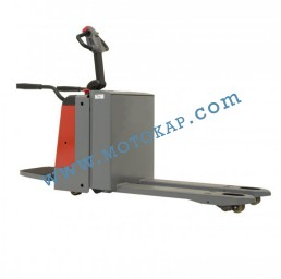 Електрическа транспалетна количка с платформа 2,0 тона
