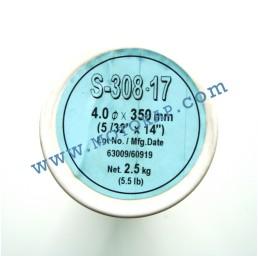 Електроди неръждаеми Е308L-17 ø 4.0 мм тубус 2.5 кг, Hyundai