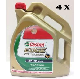 КАШОН 0W-40 EDGE FST - 4бр Х 5 литра